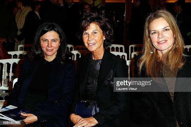 Sylvie Rousseau attends 20th edition of ' Les Sapins de Noel des Createurs' Designer's Christmas Trees Auction to benefit Avec Foundation at Theatre...