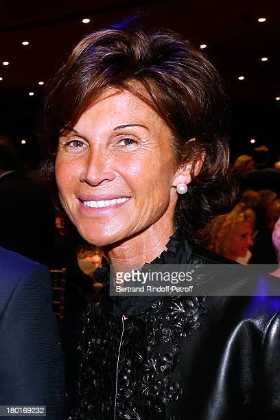 Sylvie Rousseau attends 'Friends of Quai Branly Museum Society' dinner party at Musee du Quai Branly on September 9 2013 in Paris France