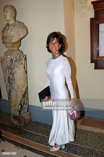 Sylvie Rousseau attends the Ballet National de Paris Opening Season Gala at Opera Garnier on September 24 2015 in Paris France