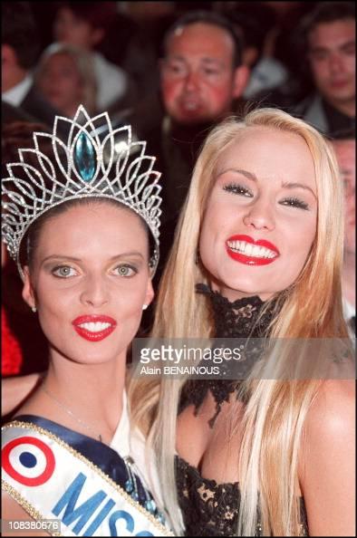 Sylvie tellier miss france 2002 and elodie gossuin miss france 2001 in mulhouse france on - Miss france elodie gossuin ...