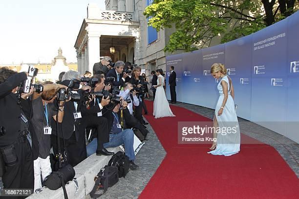Sylvie Van Der Vaart at The Bavarian Television Award at Prinzregententheater in Munich