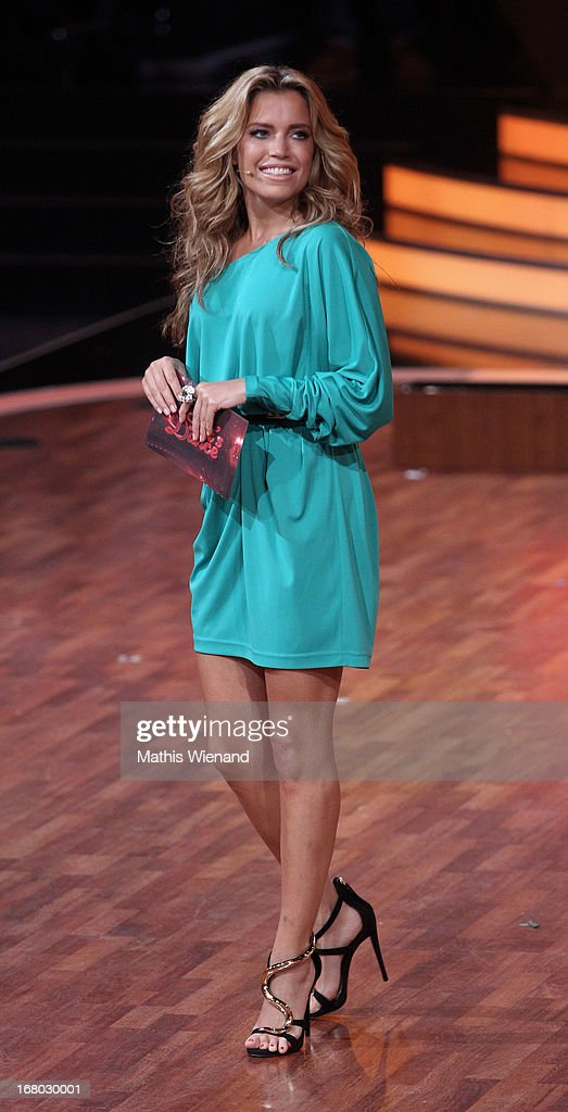 Sylvie van der Vaart attends the 5th Show of Let's Dance on RTL on May 3, 2013 in Cologne, Germany.