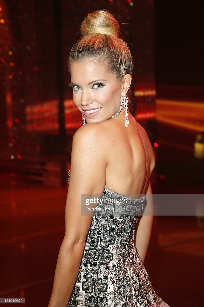 Sylvie van der Vaart attends the 'BAMBI Awards 2012' at the Stadthalle Duesseldorf on November 22, 2012 in Duesseldorf, Germany.