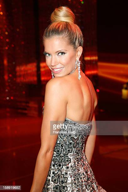 Sylvie van der Vaart attends the 'BAMBI Awards 2012' at the Stadthalle Duesseldorf on November 22 2012 in Duesseldorf Germany