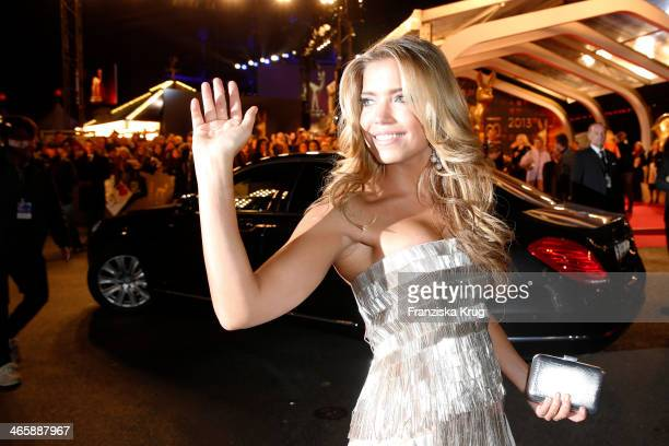 Sylvie van der Vaart attends the Bambi Awards 2013 at Stage Theater on November 14 2013 in Berlin Germany