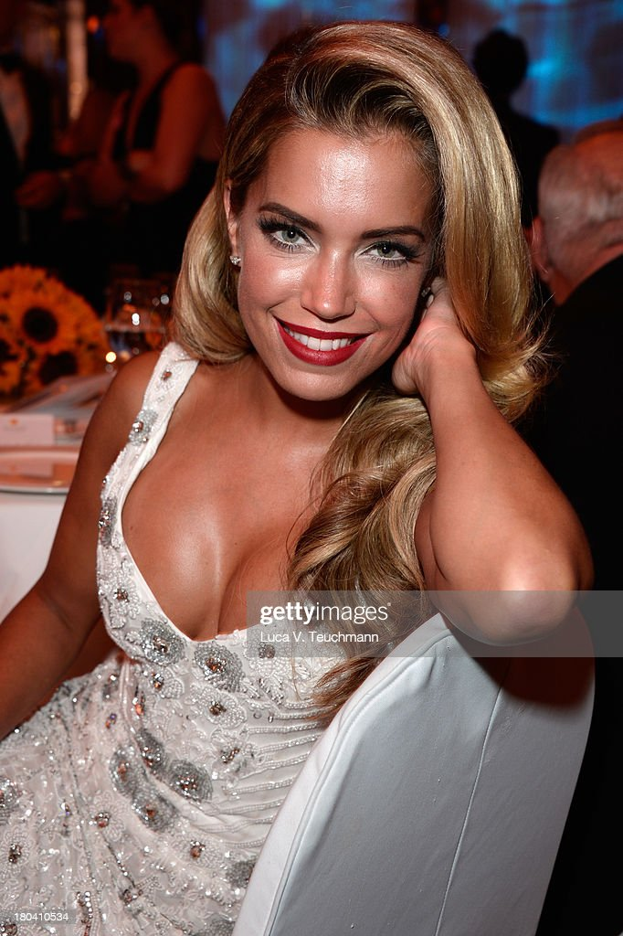 Sylvie van der Vaart attends the Dreamball 2013 charity gala at Ritz Carlton on September 12, 2013 in Berlin, Germany.