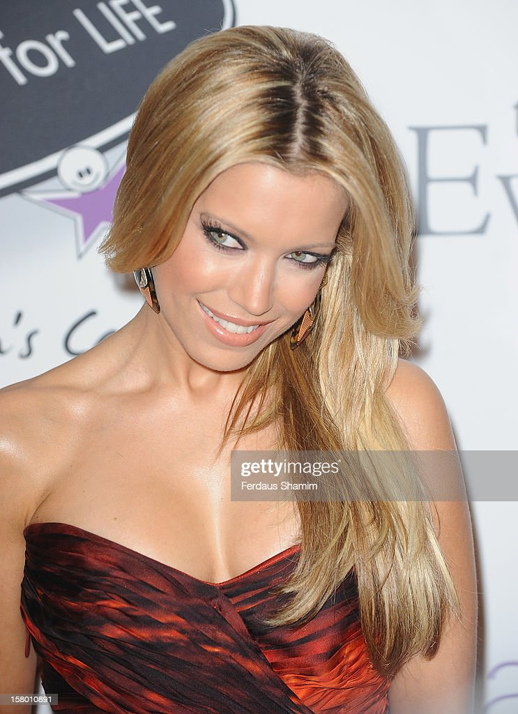 Sylvie van der Vaart attends the Noble Gift Gala at The Dorchester on December 8, 2012 in London, England.