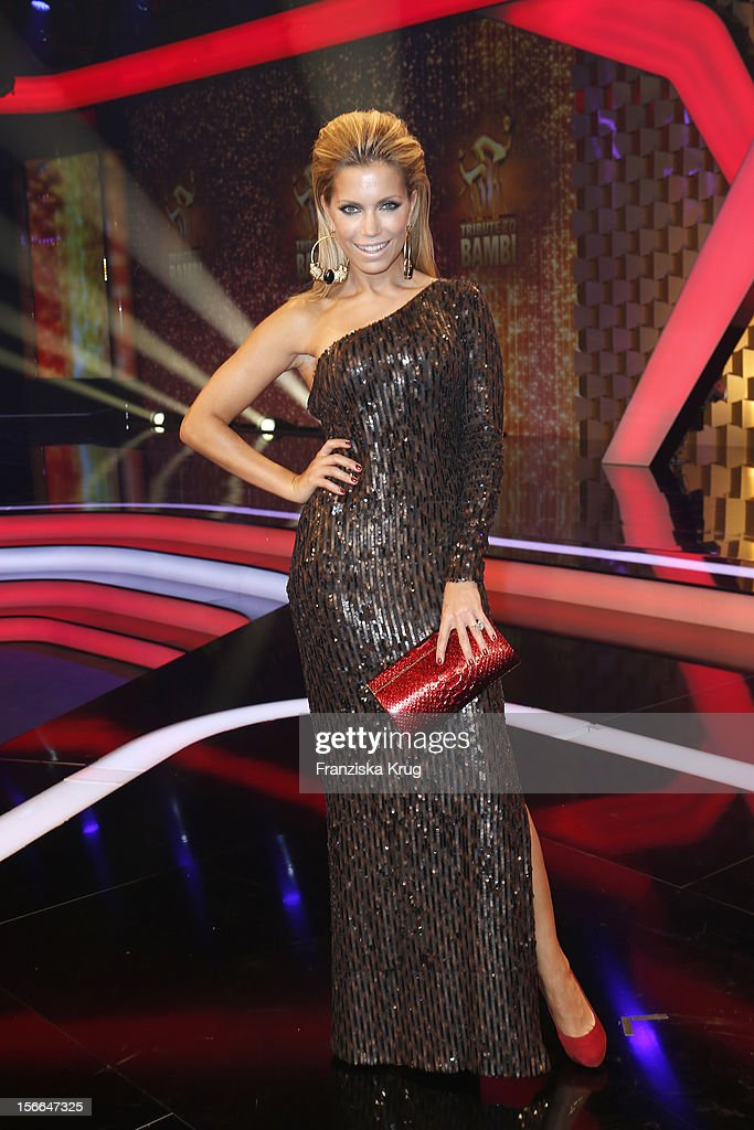 Sylvie van der Vaart attends the Tribute To Bambi - Show at the Station on October 18, 2012 in Berlin, Germany.
