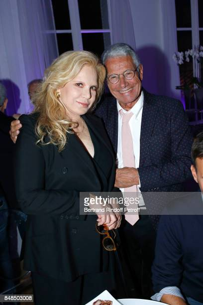 Sylvie Vartan and JeanMarie Perrier attend the Dinner after Sylvie Vartan performed at L'Olympia on September 16 2017 in Paris France