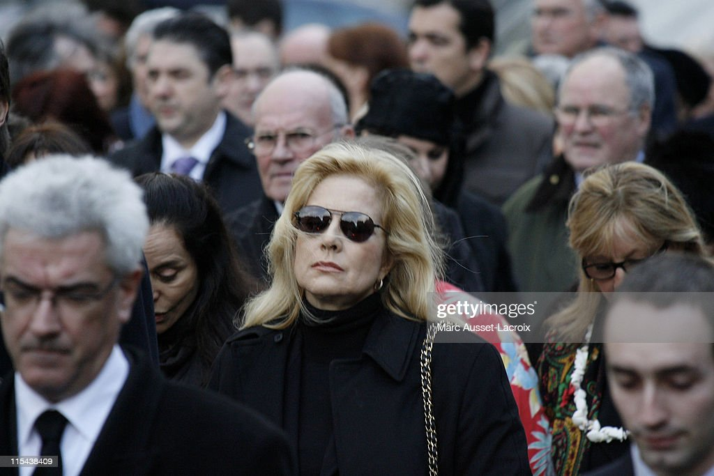 Funeral Of French Singer Carlos