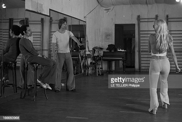 Sylvie Vartan At The Olympia 1972 En aout 1968 Sylvie VARTAN répète son prochain spectacle à l'Olympia