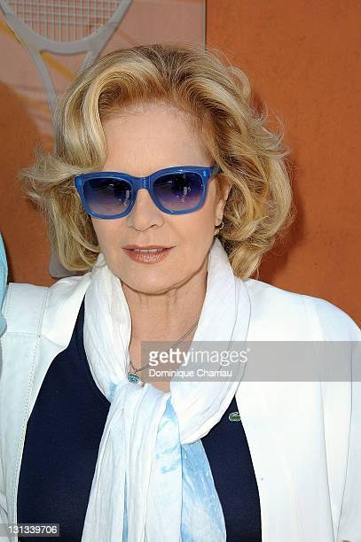Sylvie Vartan Attends the French Open at Roland Garros on June 1 2011 in Paris France