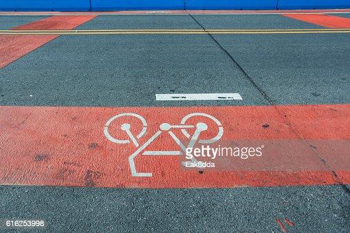Symbol for bicycle : Foto de stock