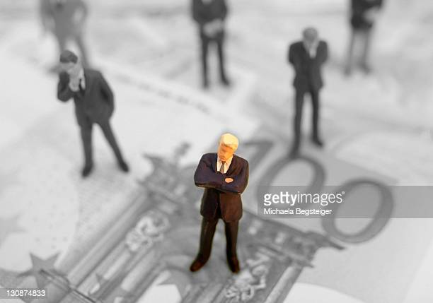 Symbolic for Businessmen and money