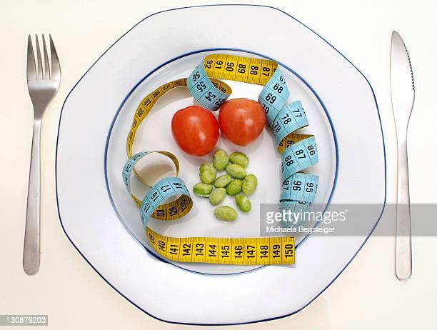 Symbolic for diet, calorie