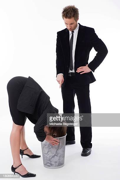 Symbolic for mobbing at work