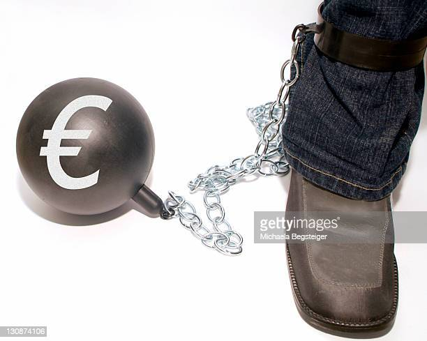 Symbolic for penal law, ball and chain