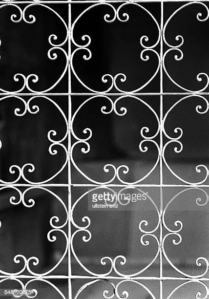 symbolic gate lattice gate ornaments wroughtiron
