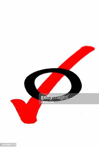 symbolic photo election acclamation poll checkmark