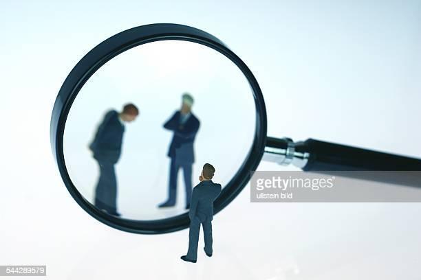 symbolic photo headhunter business people executives