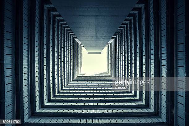symmetrical Residential buildings in Hong Kong, China