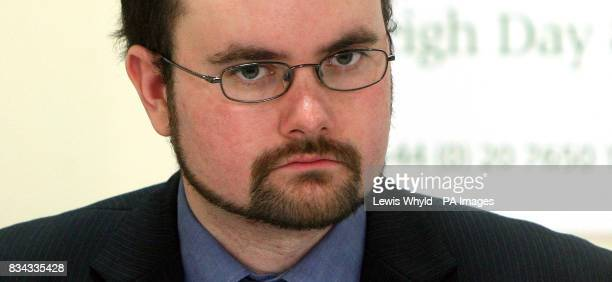 Symon Hill from Campaign against Arms Trade at a press conference in London after the Serious Fraud Office's decision to drop its investigation into...