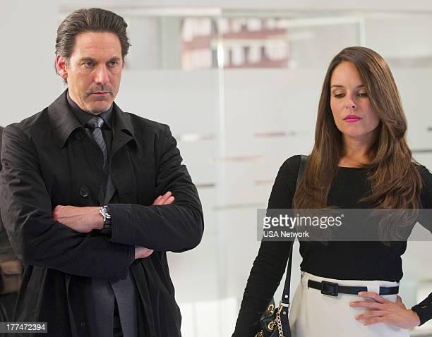 ROUGHNESS 'Sympathy For the Devil' Episode 310 Pictured Scott Cohen as Nico Careles Yara Martinez as Alex Careles