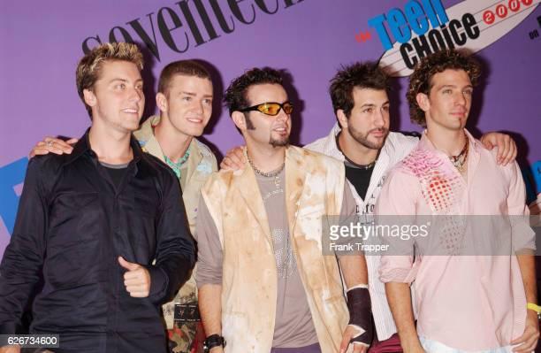 N'Sync at The Teen Choice Awards 2001