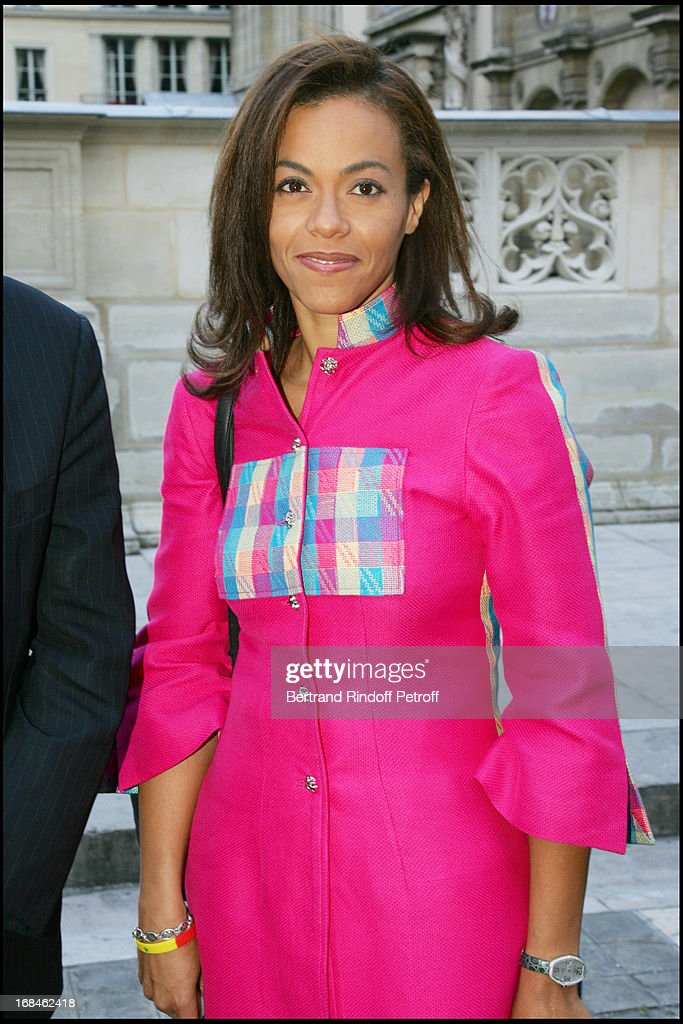 President Wade At The Party 'Black Is Beautiful' In Paris : Nyhetsfoto