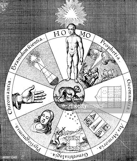 Synopsis of the diviner's arts 16171619 Chiromancy prophecy mnemonics physiognomy pyramidology geomancy astrology the seven sources of human...