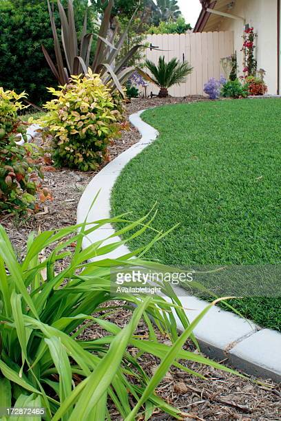 Synthetic Lawn Side Strip