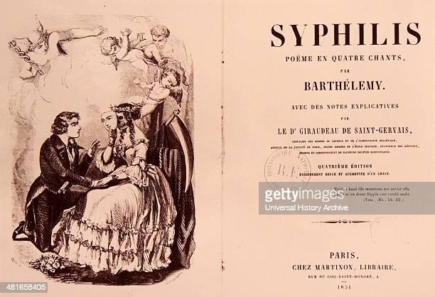 poëme en quatre chants by Barthélemy 17961867 Fracastoro Girolamo 14781553 The history of syphilis has been well studied but the exact origin of...