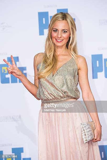 Syra Feiser attends the premiere of the film 'PETS' at CineStar on July 20 2016 in Berlin Germany