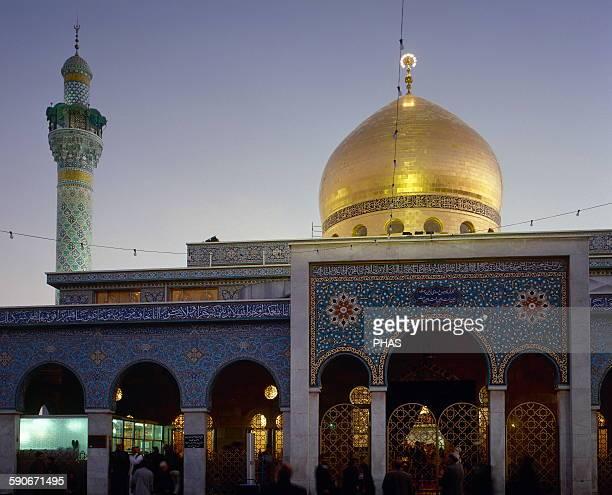 Syria Damascus Sayyidah Zaynab Mosque Shia Muslim tradition Architect Rida Mourtada Near East Photo before Syrian civil war
