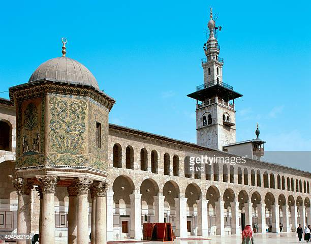 Syria Damascus Umayyad Mosque or Great Mosque of Damascus Built in the early 8th century Courtyard