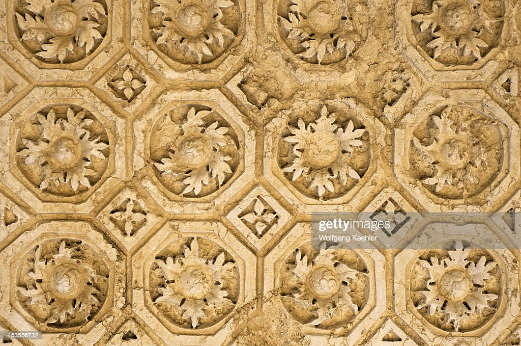 syria palmyra ancient roman city temple of bel detail of roof design - Ancient Rome Designs