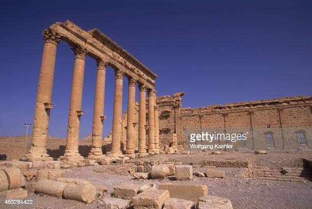 Syria Palmyra Ancient Roman City Temple Of Bel