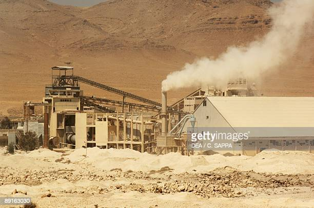 Syria Phosphate ore mine near Damascus