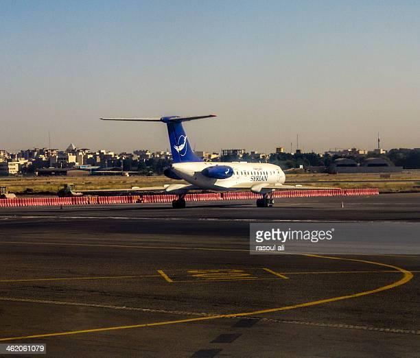 CONTENT] Syria plane Syrian Airlines Damascus International Airport Photography Rasoul Ali