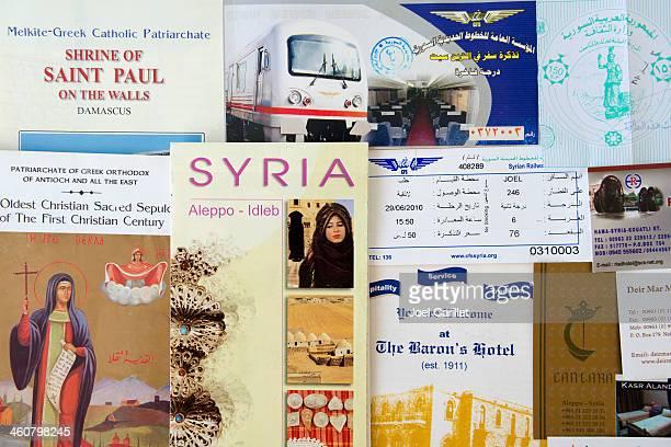 Syria travels and memorabilia