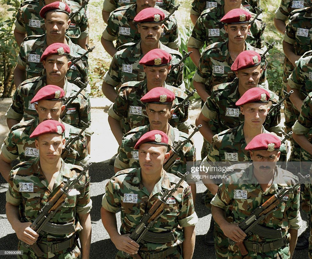 Syrian Armed Forces (Photos, Video) - Page 6 Syrian-army-special-forces-prepare-for-tomorrows-farewell-ceremony-at-picture-id52693099