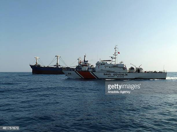 Syrian immigrants seeking to go to European countries on a merchant vessel were caught in an operation of Mediterranean Sea Region Turkish Coast...