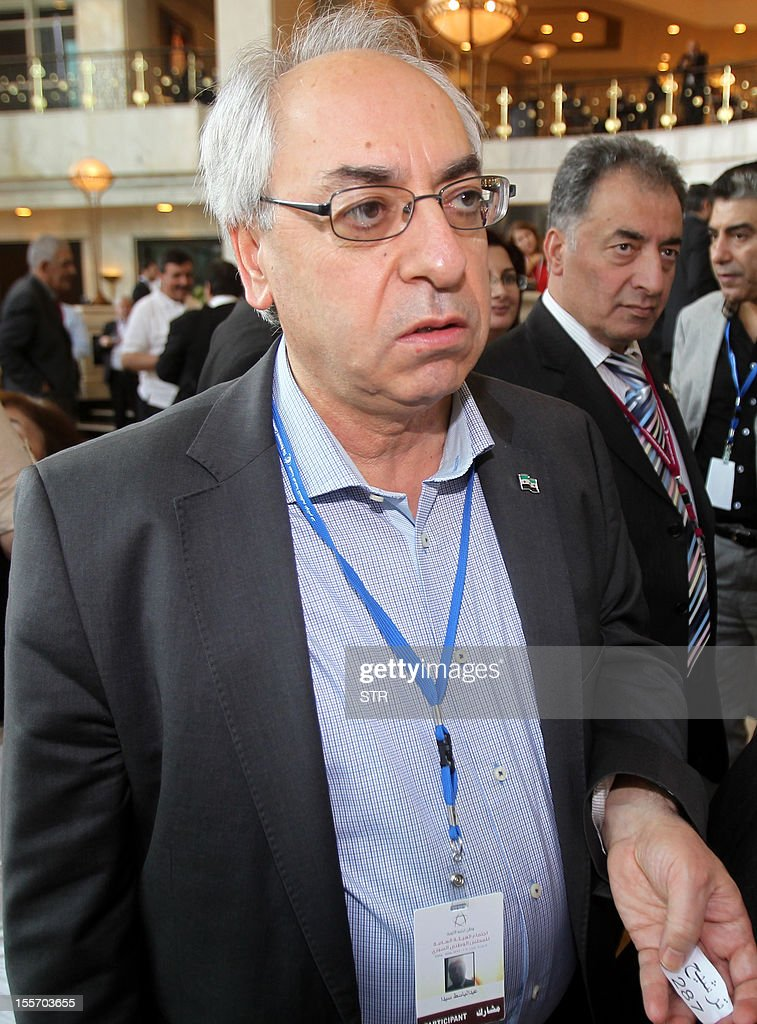 Syrian National Council (SNC) chief <b>Abdel Basset</b> Sayda waits to vote for new ... - syrian-national-council-chief-abdel-basset-sayda-waits-to-vote-for-picture-id155703655