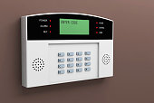 system alarm protection safety box code security 3D