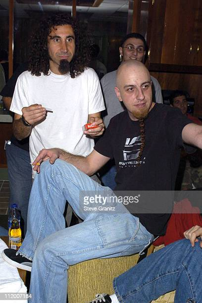 System of a Down during Souls 2004 Benefit at The Greek Theatre in Los Angeles California United States