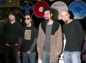 System Of A Down during System Of A Down InStore Appearance to Support Their New CD 'Steal This Album' at Tower Records Glendale Store in Glendale...
