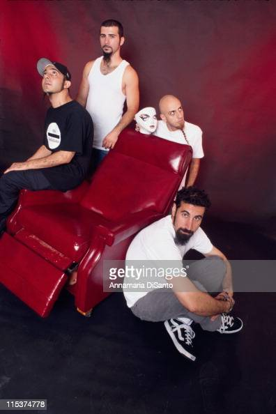 System Of A Down during System Of A Down Photo Session at Los Angeles in Los Angeles California United States