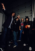 System of a Down during System of a Down Portrait Session March 8 2005 in Los Angeles California United States