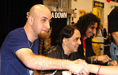 System of a Down during System of a Down Promote Their Album 'Mezmerize' at Best Buy in Burbank May 17 2005 at Best Buys in Burbank California United...