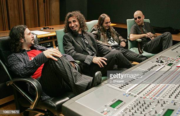 System of a Down during System of a Down Record 'Hypnotize' at Enterprise Studio at Enterprise Studios in Los Angeles California United States